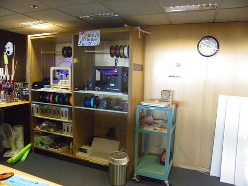 3D printers - Mach - Burton Barr Central Library