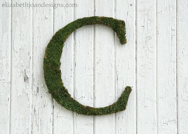 Cheap Moss Letter C