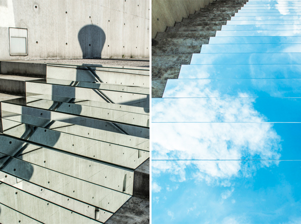Mirror Installations by Shirin Abedinirad