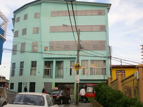 Colegio Leonardo Murialdo, Cerro Larraín