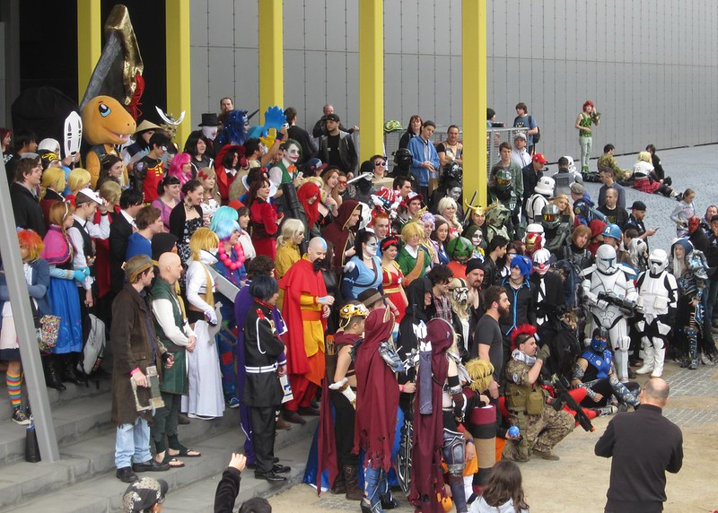 OzComicon 2015: Gathering for a photo