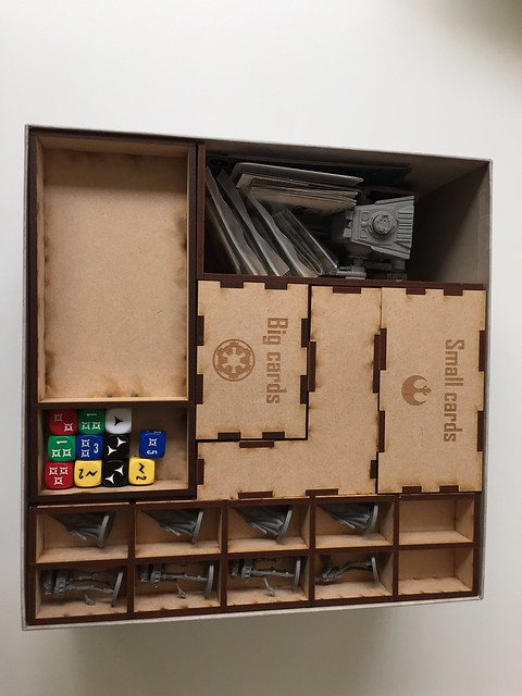 My alternate storage solution for imperial assault for Board game storage solutions