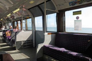 Tube train above the sea! | by diamond geezer