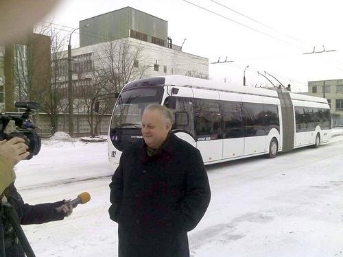 Мрія Хомка: замість трьох маршруток — один тролейбус