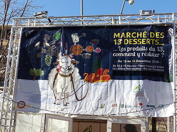 marché des treize desserts