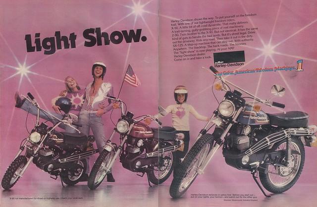 Harley-Davidson X90 Z90 SX125