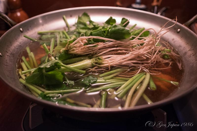 蔵の庄 せり鍋