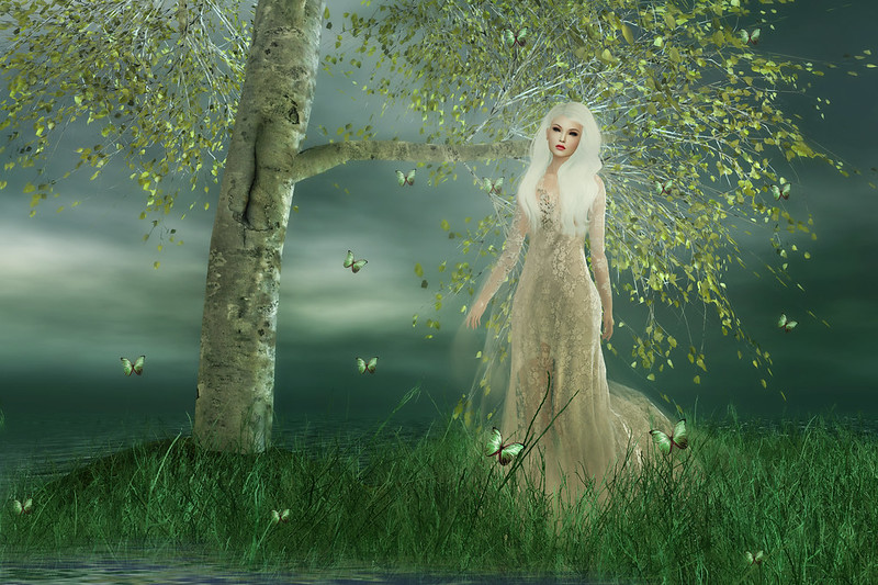 The lady in the lake...