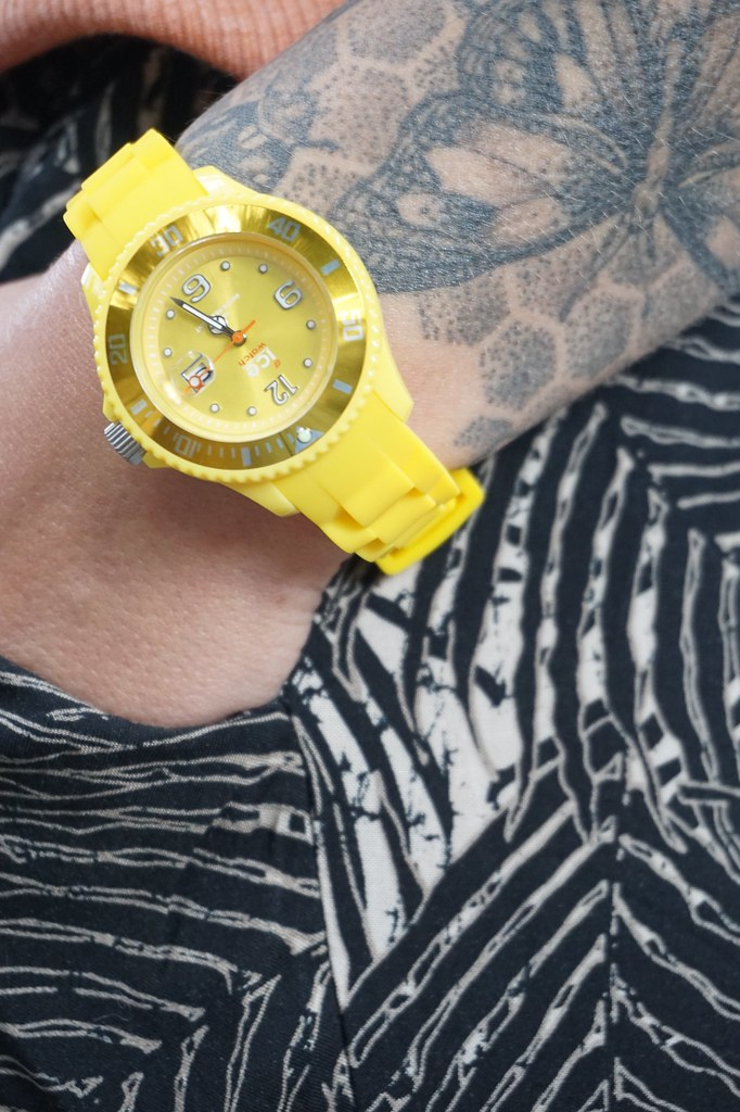 ice london watch yellow