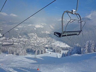 Morzine winter wonderland