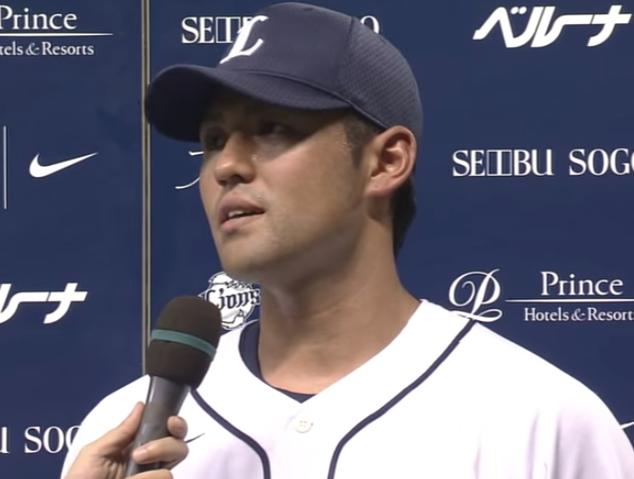 【プロ野球パ】3号満塁弾を放った木村のヒーローインタビュー 2015 06 24 L-H - YouTube