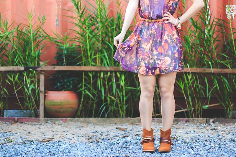 646998f77 Look do Dia – Vestido com borboletas e elefante — Sempre Glamour