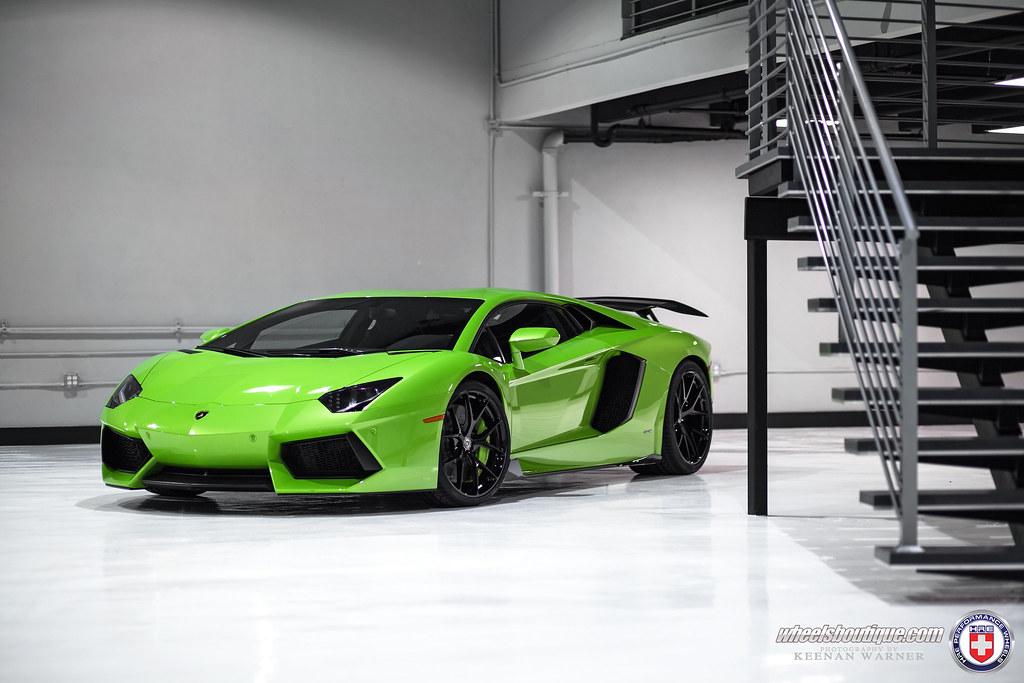 Intoxicating Verde Faunus Lamborghini Aventador Hre P101