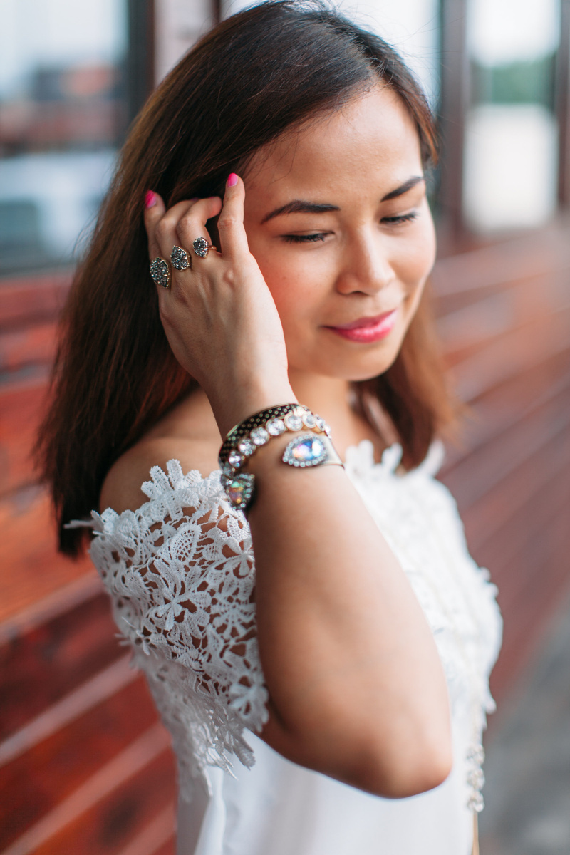 rosegal-lace-crochet-floral-off-shoulder-top-loren-hope-cuff-7