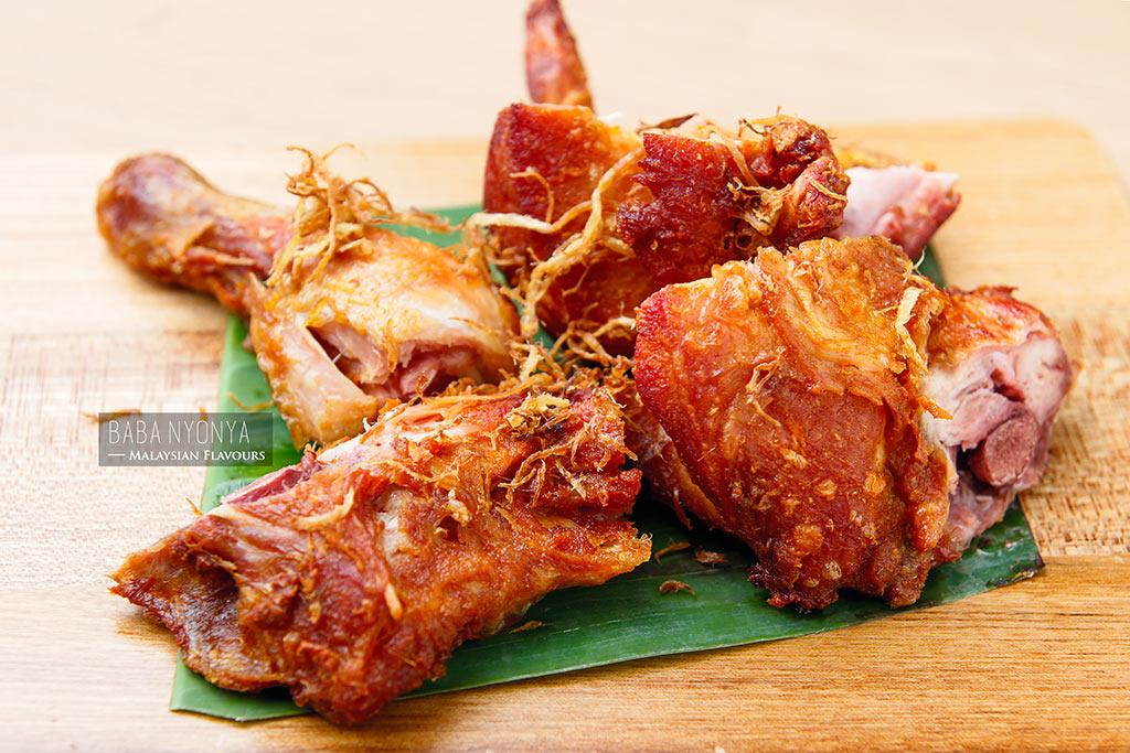 ayam goreng rempah Baba Nyonya Avenue K