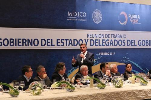 Establece Tony Gali agenda coordinada con delegados federales