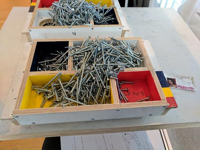 Screws to sort