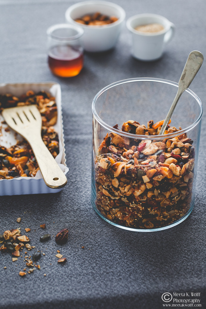 Almond Butter Seed Fruit Nut Granola-by Meeta K Wolff-WM-0042