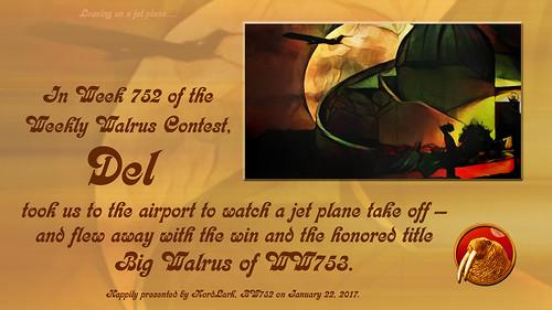 WW752 Certificate for Del
