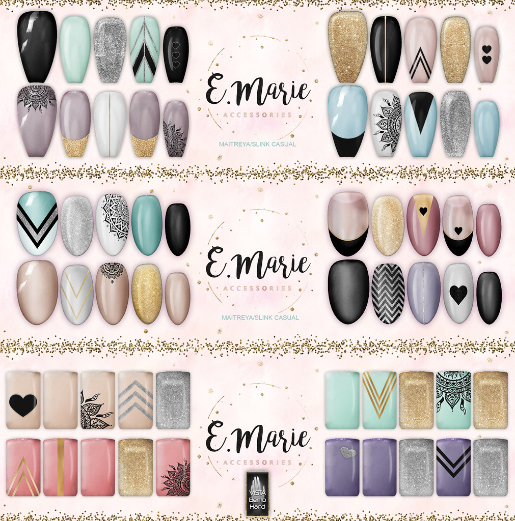 e.marie // Boho Magic Nail Sets ♥