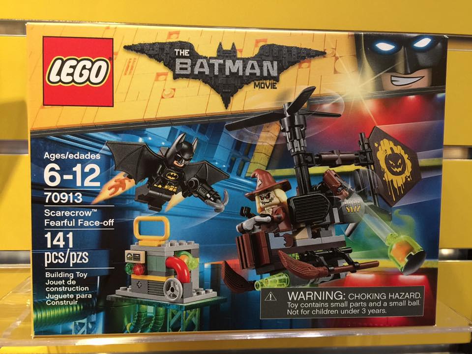LEGO Batman Movie Scarecrow Fearful Face-Off (70913)