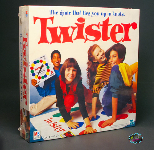 Classic Board Games : Twister Rated R