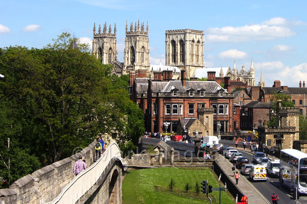The city of York