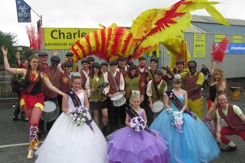 Samba Band, Stalybridge Carnival