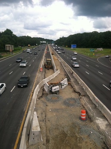 Route 2/I-95: New I-95 Median Barrier | by MassDOT