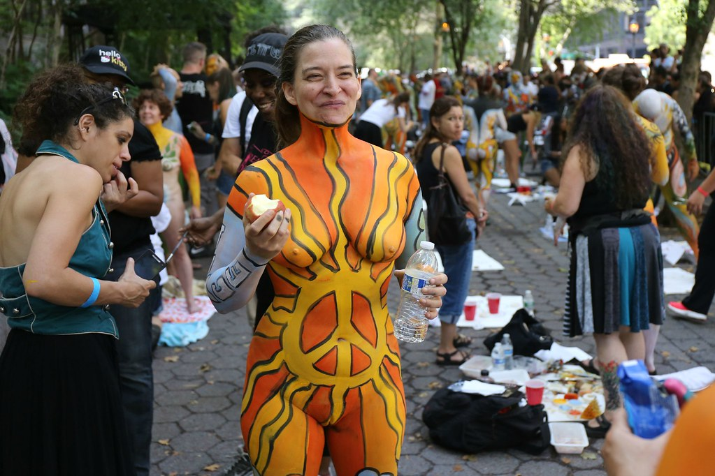 Nyc bodypainting day 2015 scott lynch flickr for Craft fair nyc 2017
