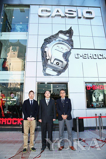 CASIO Wangfujing China flagship store opening ceremony