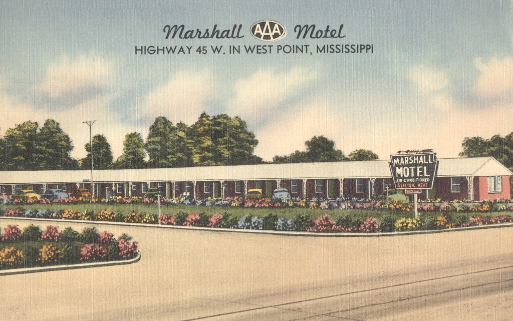 Marshall Motel - West Point, Mississippi