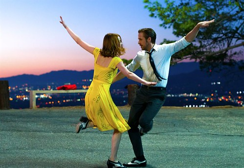 La La Land de Damien Chazelle : Emma Stone et Ryan Gosling