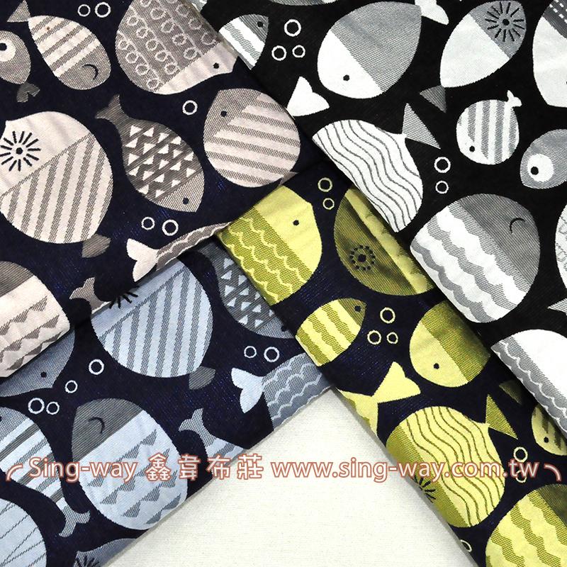 魚兒 服裝用布 手工藝DIy拼布布料 CH1590047