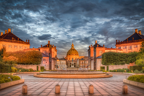 Amalienborg in the Sunrise | by Jacob Surland