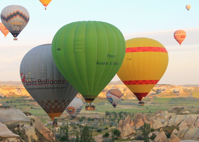 Hot air ballooning - bucket list item