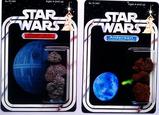 Custom Star Wars action figures by TD 5491 Phenix Customs - Death Star vs Alderaan