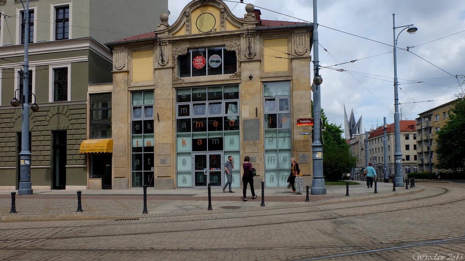 Plac Teatralny, Wroclaw, Poland
