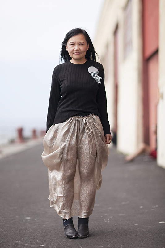 windychien street style, street fashion, women, San Francisco, Quick Shots, Fort Mason