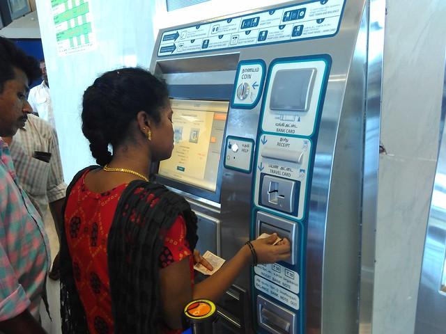 Chennai-Metro-Ticket-Vending-Machine