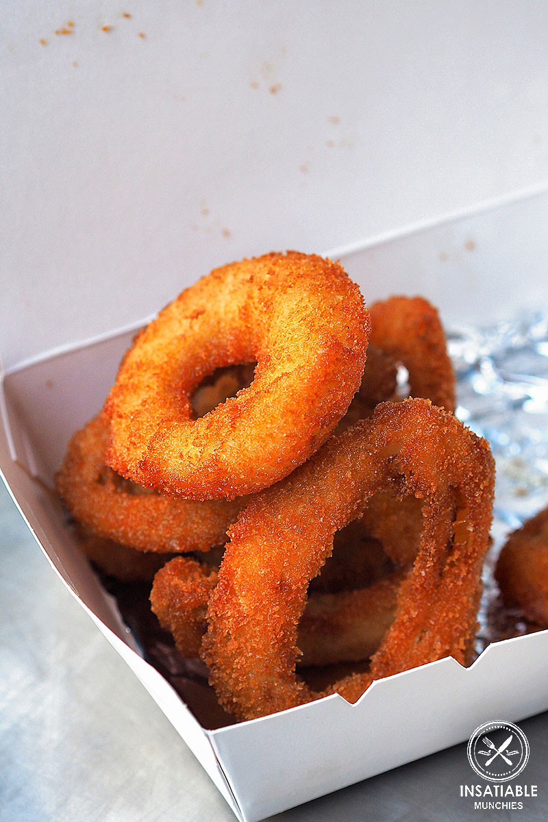 Review of Lord of the Fries, Central: Onion Rings