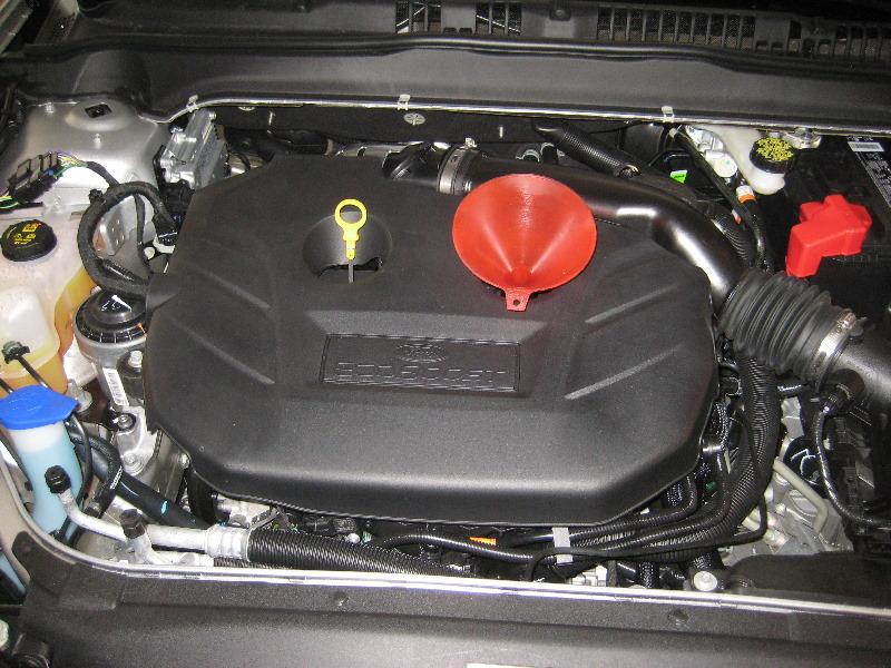 2014 Ford Fusion Titanium Sedan Ecoboost 2 0l Turbocharg Flickr