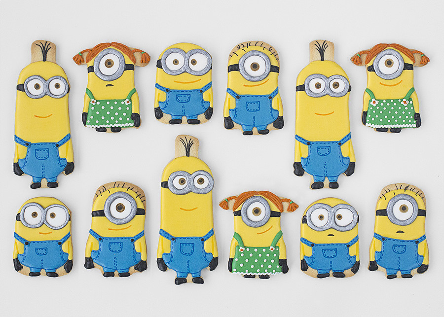 Galletas decoradas MInions