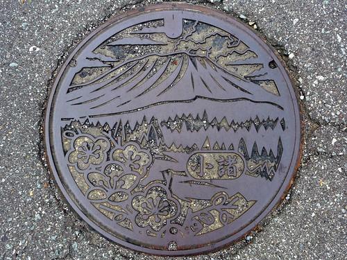 Komoro Nagano, manhole cover (長野県小諸町のマンホール)