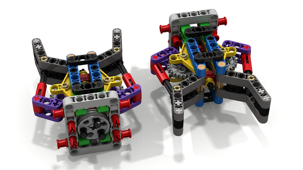 Pair of Lego Grabbers/ Grippers/ Claws | This is a variation… | Flickr