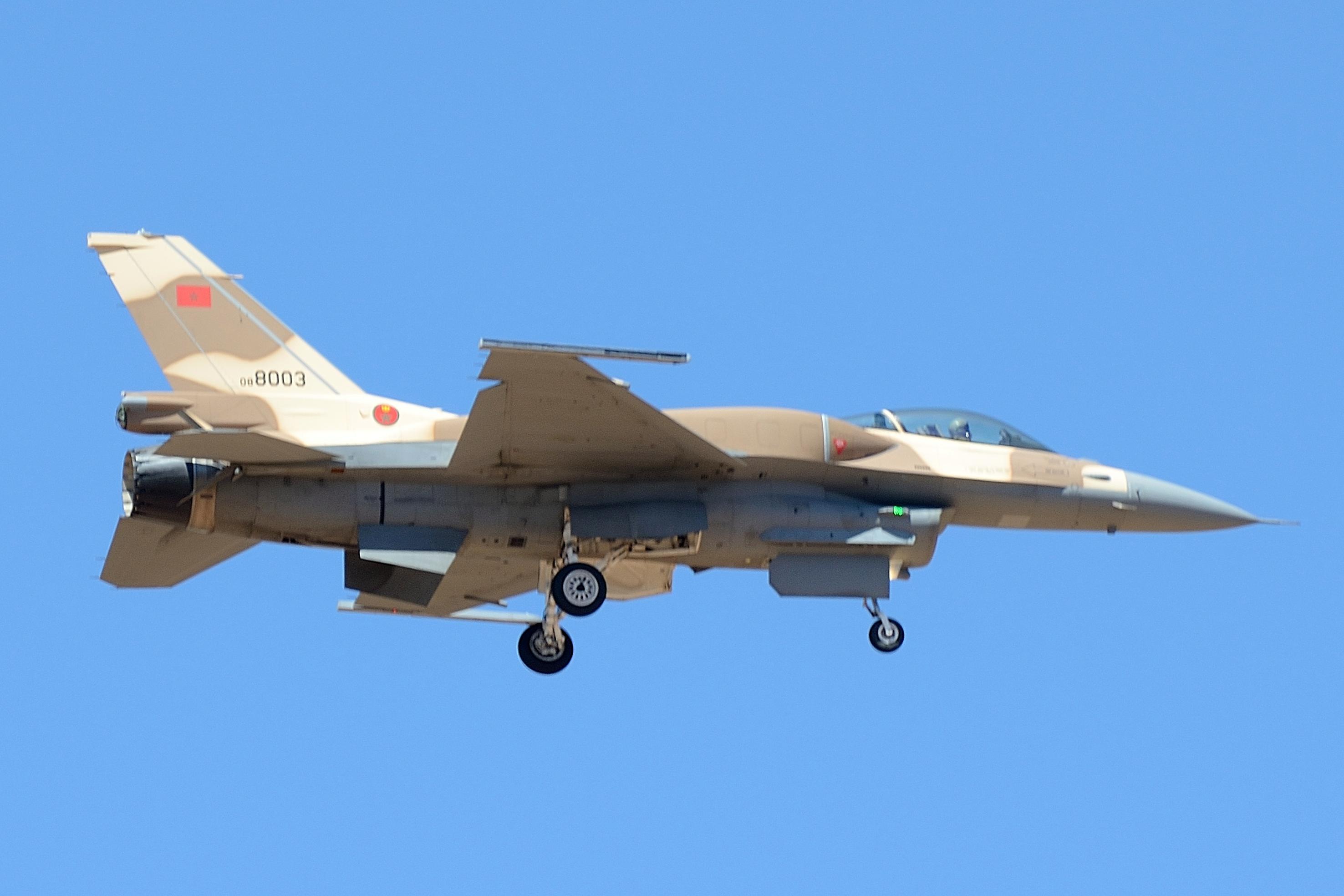 Moroccan F-16 Atlas Falcon / RMAF F16 block 52+ - Page 31 32400029772_1ef468d971_o
