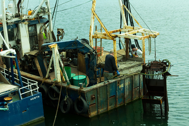 20150526-006_Howth Harbour_Fishing Boat Maintenance