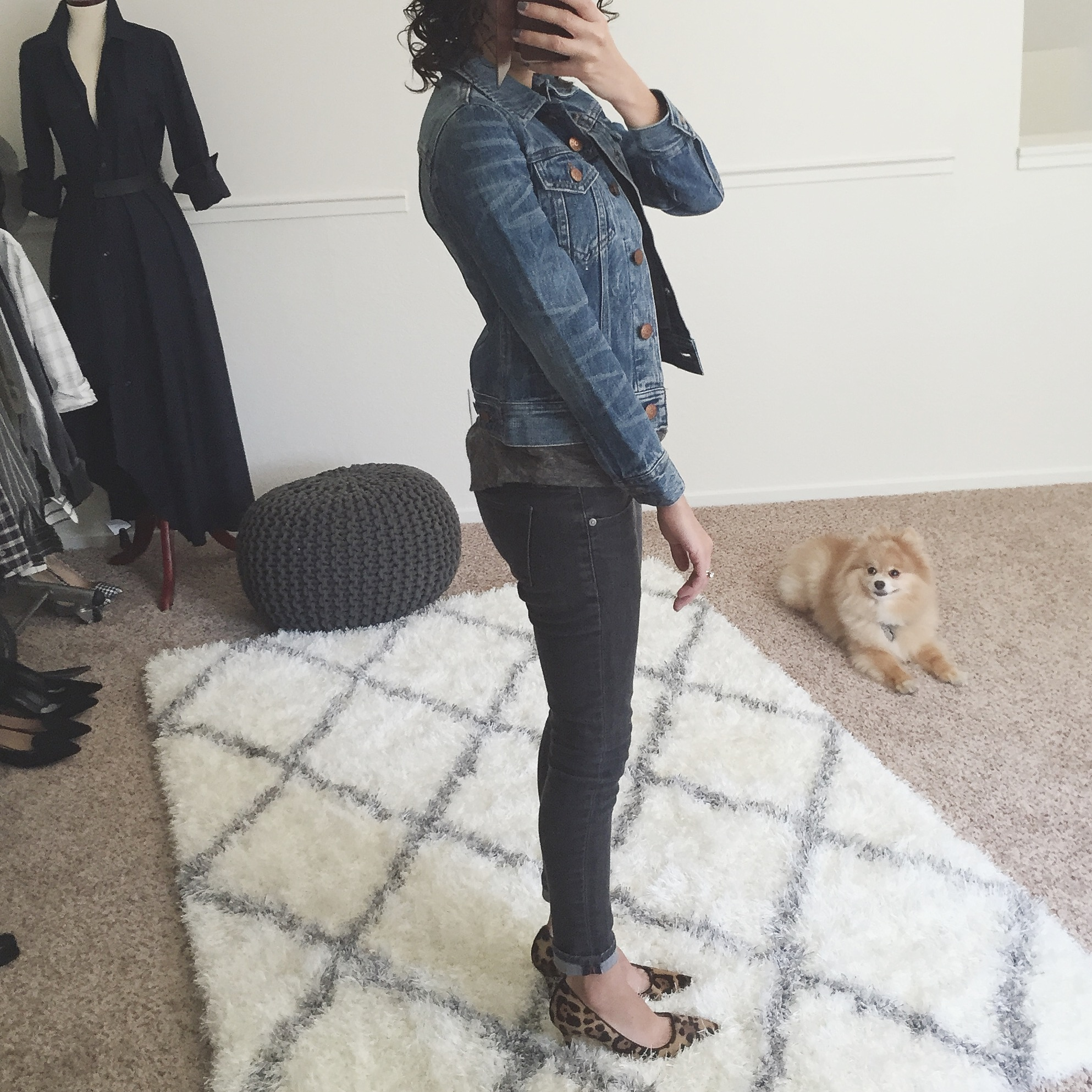 Review J.Crew Denim Jacket Tyler Wash petite