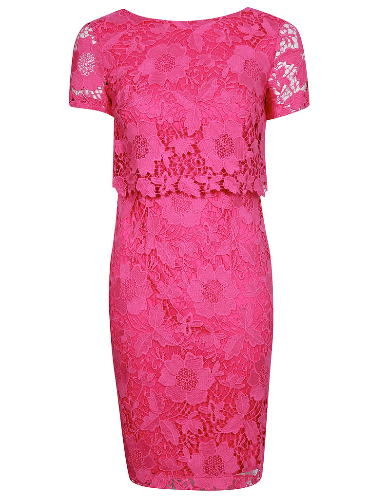 George Pink Lace Dress