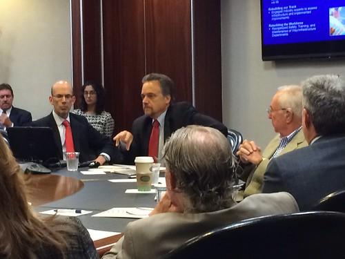 Economic Development Task Force Meeting Spring 2015